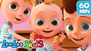 Apples and Bananas - LooLoo Kids Nursery Rhymes and Children`s Songs