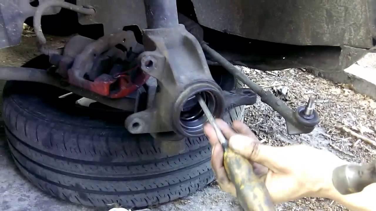Замена заднего ступичного подшипника форд фокус 2 своими руками