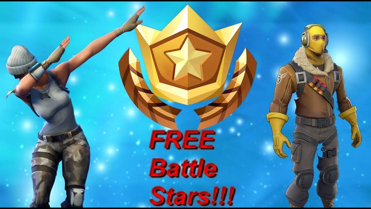how to get free battle stars fortnite battle royale - fortnite how to get battle stars