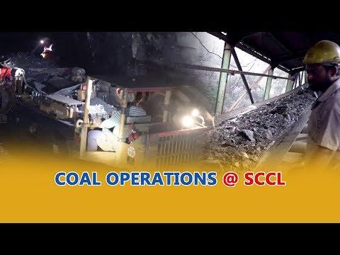Singareni Siren   Coal Mining Operations At Singareni   Public Relations Department   SCCL