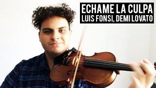 Download Video Echame La Culpa - Luis Fonsi & Demi Lovato (Violin Cover) | Brandon Woods MP3 3GP MP4