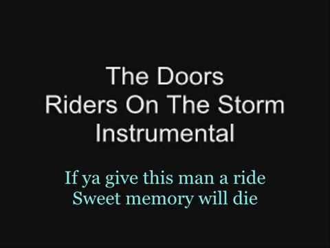 KARAOKE - THE DOORS - RIDERS ON THE STORM