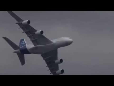 Airbus A380 vertical Take off + Amazing Air Show  HD  Paris Air show 2013+Unbelievable