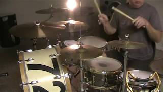 It Never Rains in Southern California -- Albert Hammond a HVYhitr LIVE drum cover