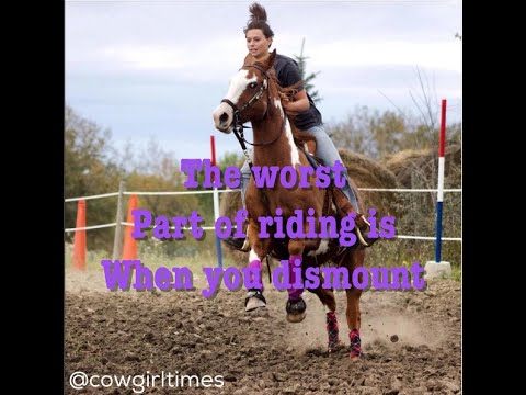 Barrel Racing Quotes Amazing Top Barrel Racing Quotes 2016  Youtube