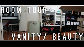 Beauty Room Walk In Closet Tour & Makeup Collection