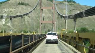 Dunvegan Suspension Bridge Construction