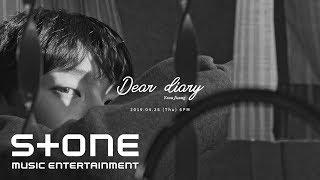 윤지성 (Yoon Jisung) - Special Album 'Dear diary' Trailer