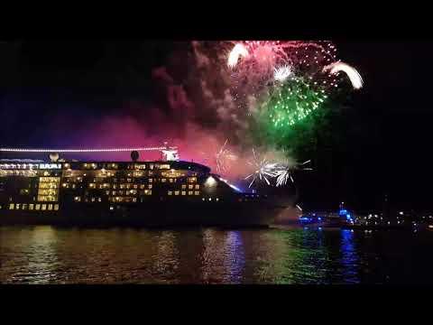 Auslaufparade Hamburg Cruise Days am 09.09.2017