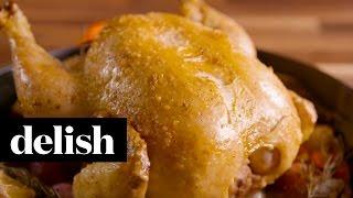 Skillet Roast Chicken | Delish