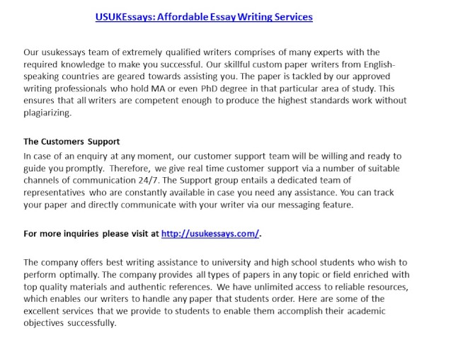 university standard essay writing For students at charles darwin university a resource to assist tutors working with show your students a standard bottle of water and essay writing.