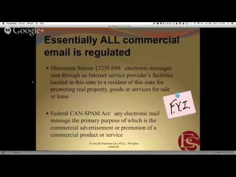 CAN-SPAM Act Basics: What You Need To Know When Sending Emails With Erin Swanson