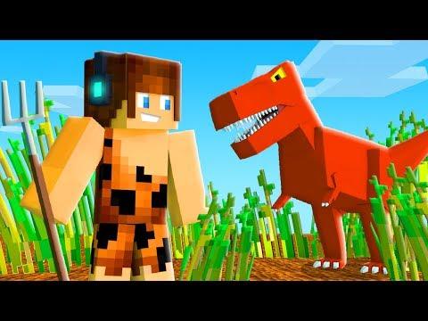 NOVA FORMA DE CONSEGUIR COMIDA !! - Minecraft Dinossauros #06