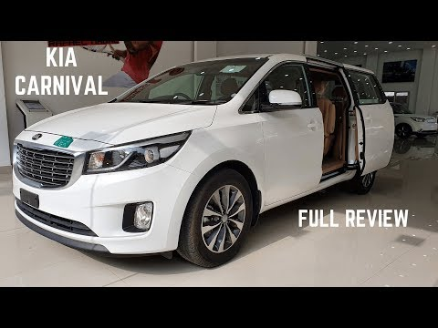 2020 Kia Carnival LUXURIOUS MPV India FULL Detailed Review - Latest Features, New Interiors