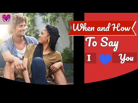 when to say i love you christian dating