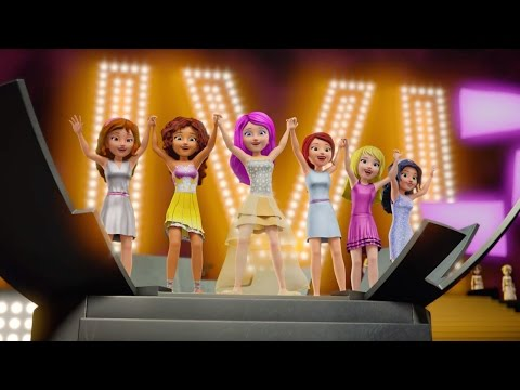 Girlz - LEGO Friends Karaoke Version - Music Video