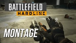 HD - BFH Battlefield Hardline PS4 Sniping Montage - Quick scope RPG  Double Barrel Shotgun BF PS4