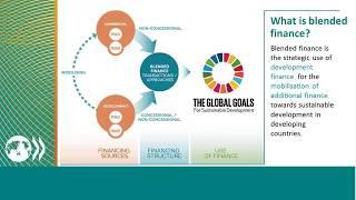 Findings from new OECD report 'Making Blended Finance Work for the SDGs'
