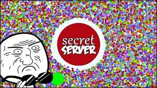 THE SECRET MASS SERVER  - AGARIO SECRET ZONE - 50 000 LITTLE DOTS (Agar.io Custom Private Server)