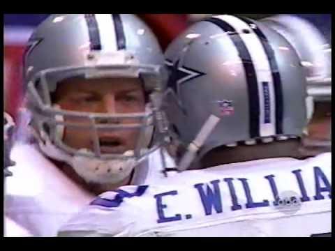 Troy Aikman scrambles for a TD vs Minnesota 1996 wild card