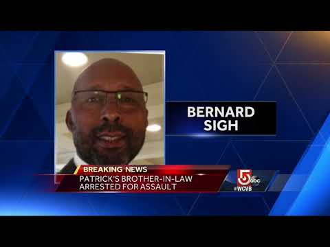 Deval Patrick's brother-in-law arrested for 'assault to rape'