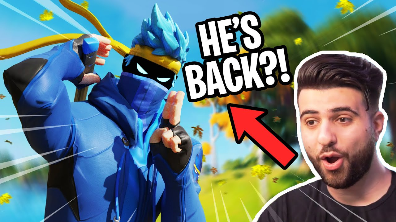 NINJA RETURNS! FIRST TIME PLAYING FORTNITE SEASON 4 w/ @SypherPK