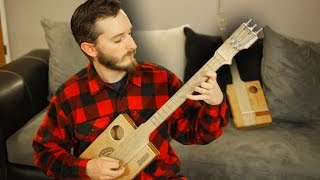 How To Make A Fretted Cigar Box Guitar