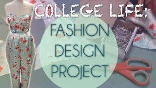 VLOG| Life as a Fashion Design Major