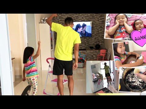 My Daily Routine | Zara Cute Joget Dangdut Syantik bareng Papa | Tips Dapur mama