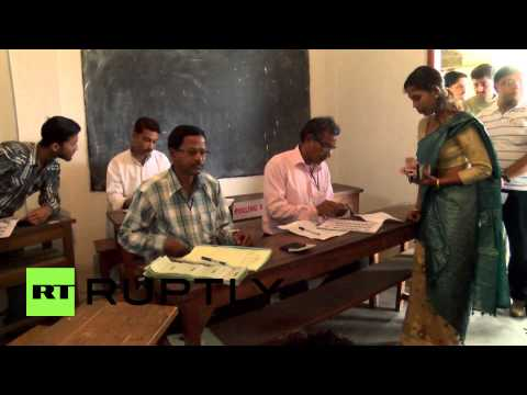 India: Largest election in history begins