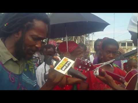 Icientcy Mau And The Mau Mau Warriors Live With Irie FMs Andrea Williams