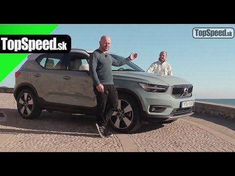 Volvo XC40 SUV jazda - TopSpeed.sk a Garaz.TV (Rasťo CHVÁLA)