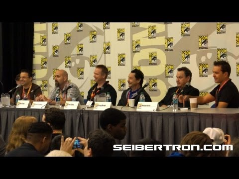 Activision Transformers Fall of Cybertron Panel featuring Video Game Talent at SDCC 2012 1\/8