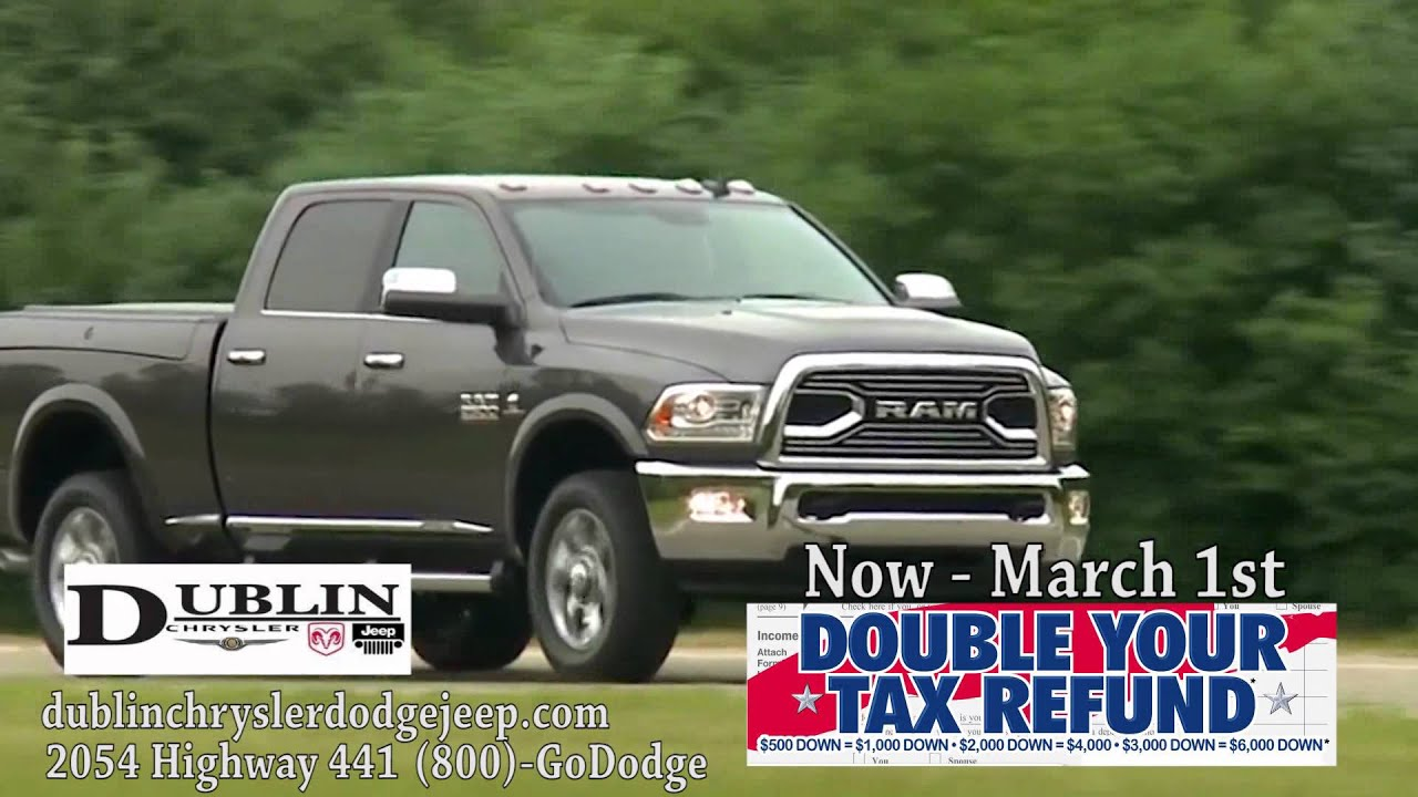 Superior Double Your Tax Refund At Dublin Chrysler Dodge Jeep Ram