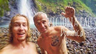 Abenteuer Victoria Falls auf Dominica & mit neuen Freunden    Sailing 7seas #30