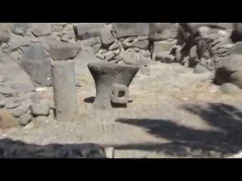 Capernaum, Sea of Galilee, Israel - Excellent excavation of the site of Jesus base in Galilee""