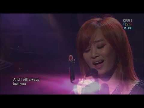 [1080P] 효린 - I Will Always Love You (140112)