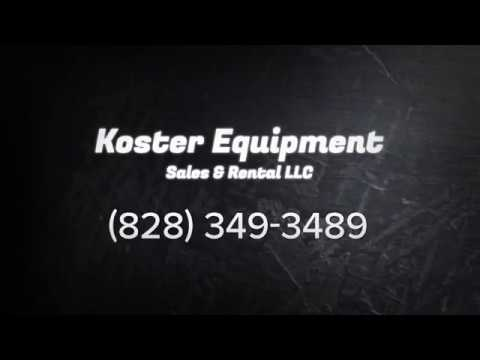 Lawn Equipment & Landscape Supply In  Franklin, NC | Koster Equipment Sales & Rental LLC