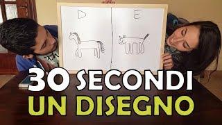 DISEGNI CHALLENGE! 30 secondi un disegno!