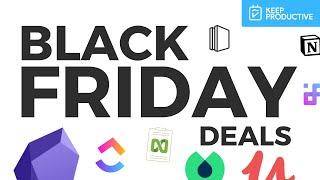 Black Friday Productivity Deals