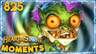 Those Are Some TOP TIER Mindgames | Hearthstone Daily Moments Ep.825