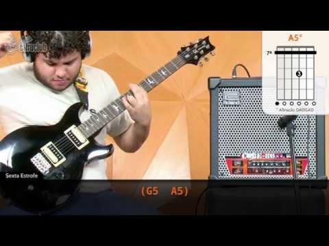 Kashmir - Led Zeppelin (aula de guitarra)