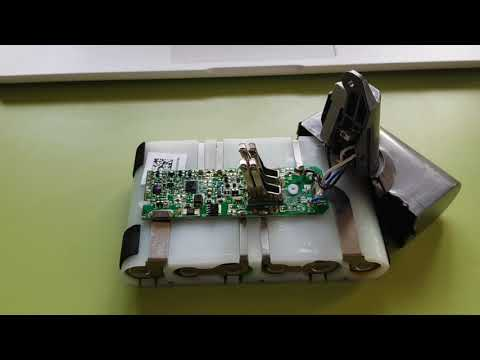 Dyson v6 sv03 battery bms problem
