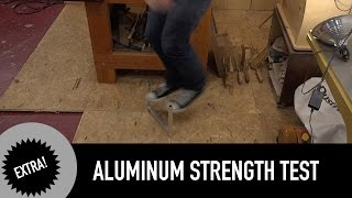 Aluminum Soldering Strength Test. Holy Cow!