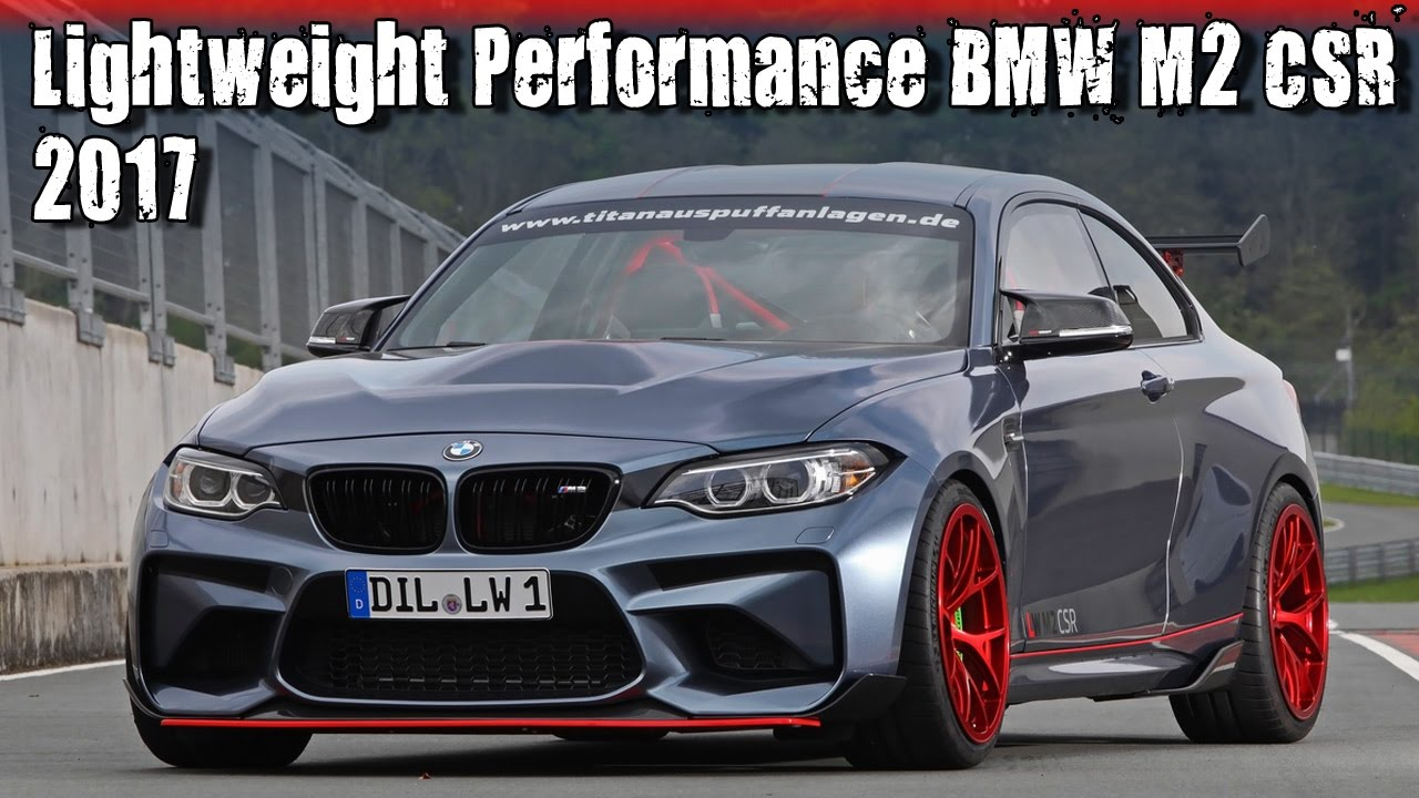 2017 BMW M2 CSR With 590HP S55 Engine By Lightweight Performance