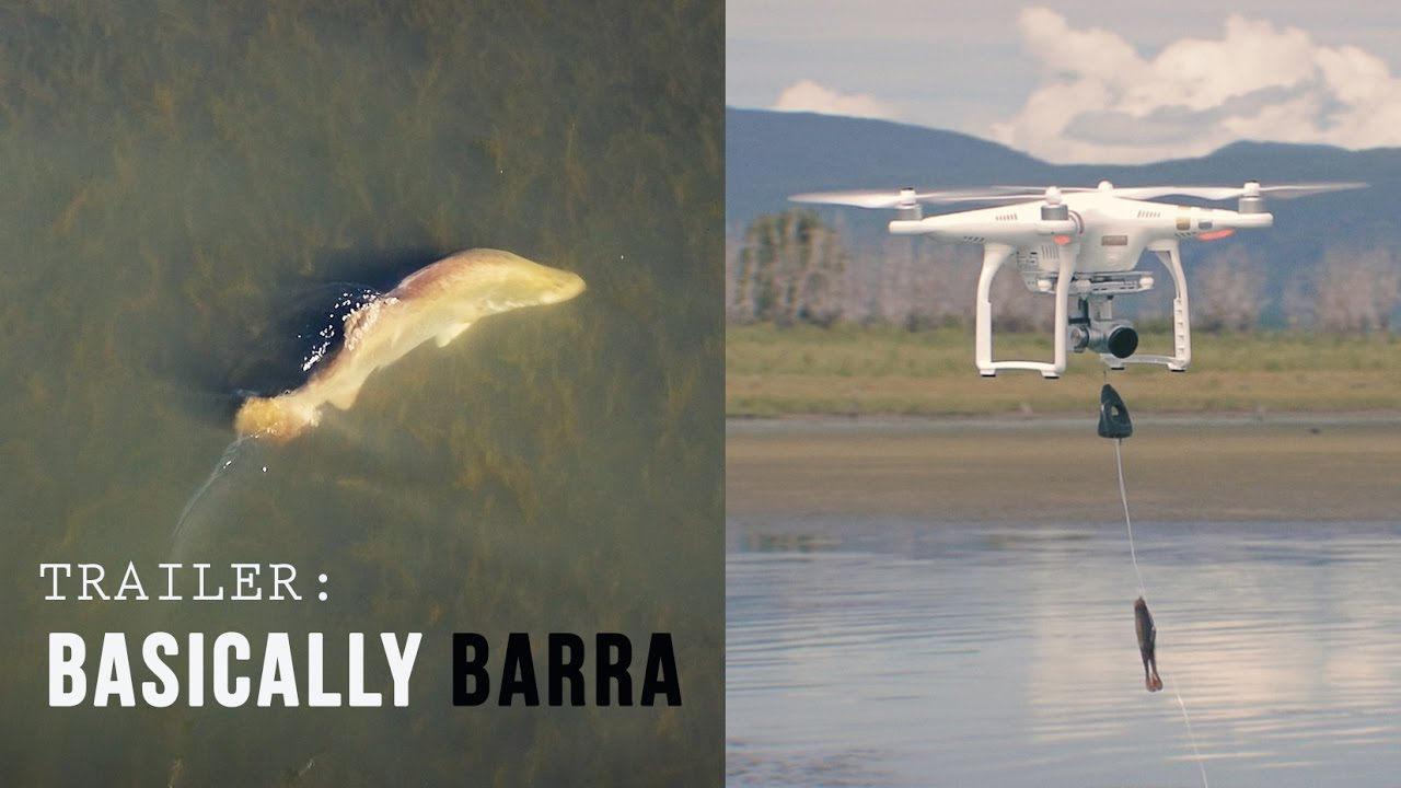 Drone Fishing for Barra!