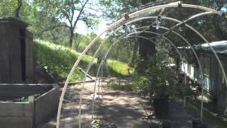 How To Build Greenhouses & Carports For Only $20