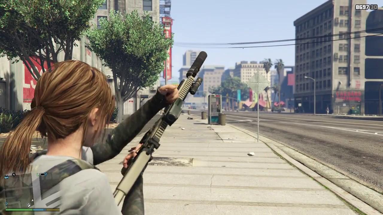 GTA 5 Weapon Mod - FN SCAR-L (PC)
