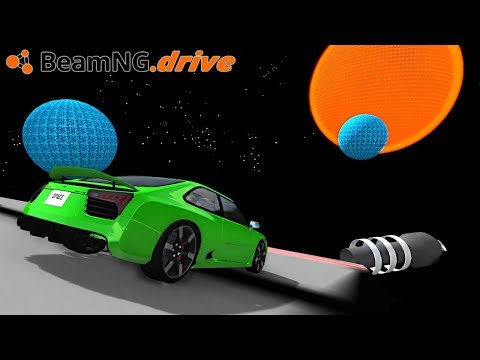 BeamNG.drive - DRIVING INTO THE SUN