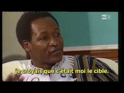 Blaise l'assassin de Thomas Sankara!